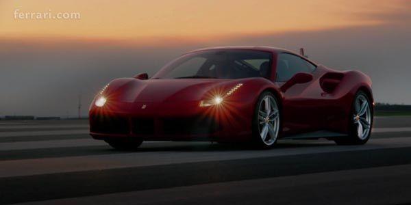 Ferrari 488 GTB : la vidéo officielle