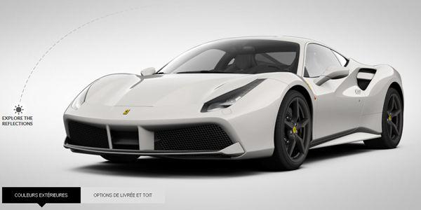 Configurez votre Ferrari 488 GTB