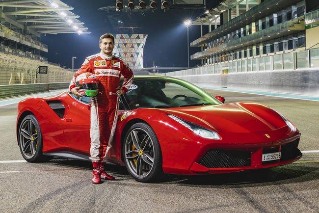 Ferrari 488 Passione Rossa à Abu Dhabi