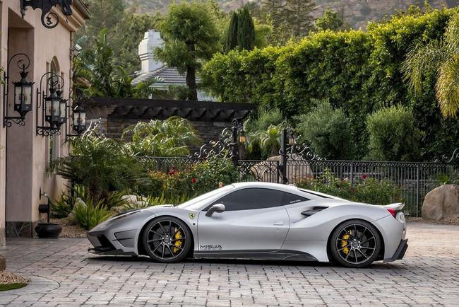 Ferrari 488 GTB par Misha Design