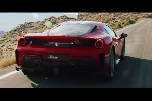 Ferrari 488 Pista : la vidéo officielle