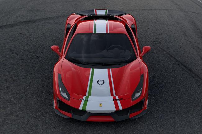Une spécification Piloti Ferrari pour la 488 Pista
