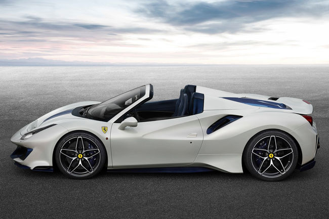 Pebble Beach : Ferrari 488 Pista Spider