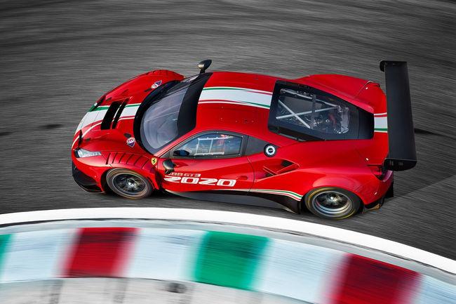 Nouvelles Ferrari 488 GT3 Evo 2020 et Ferrari 488 Challenge Evo