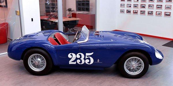 Une 500 Mondial Spyder restaurée par Ferrari Classiche
