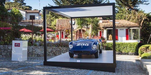 Une Ferrari 500 Mondial primée à Pebble Beach