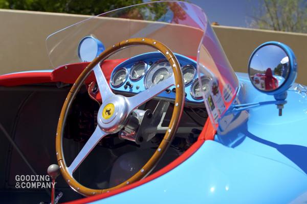 Gooding : une Ferrari 500 Mondial à Pebble Beach