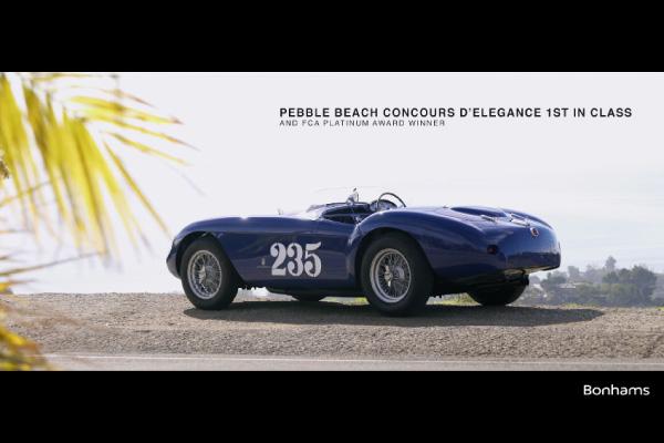 Bonhams : Ferrari 500 Mondial Pininfarina Spider 1954