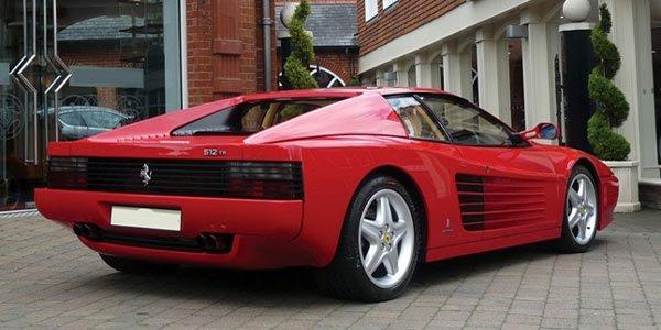 Une Ferrari 512TR ex-Elton John à vendre