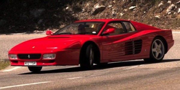 Vidéo : Chris Harris en Ferrari 512 TR