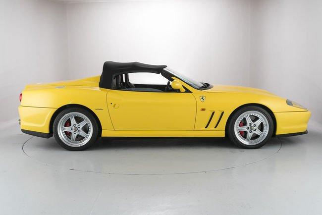 A vendre : Ferrari 550 Barchetta et 575 Superamerica
