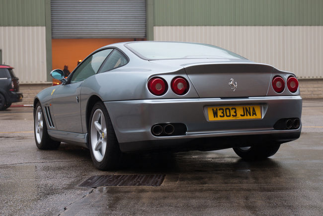 Silverstone Auctions : Ferrari 550 Maranello WSR