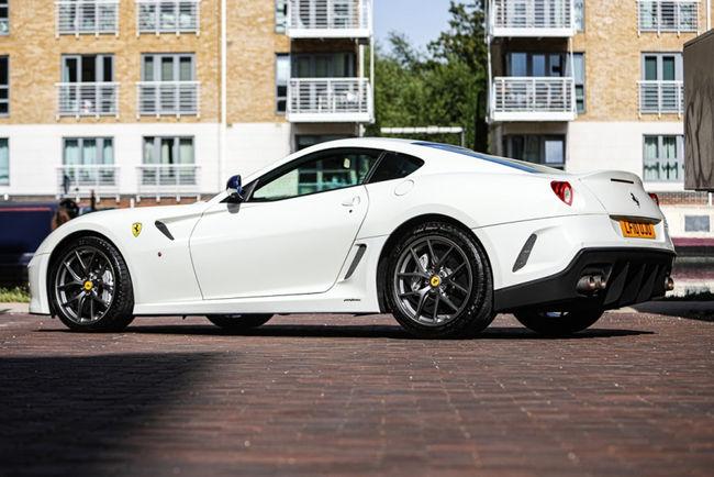 Quatre Ferrari 599 aux enchères de Silverstone Auctions
