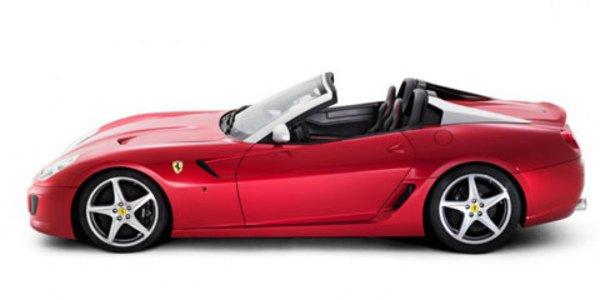 Ferrari 599 SA Aperta, GTO plein air