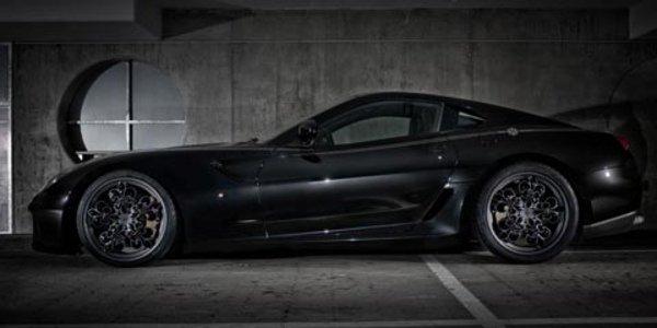 Ferrari 599 Comte Noir, baroque !