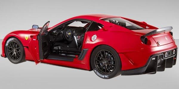 Une Ferrari 599XX proposée à la vente