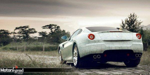 Ferrari aux enchères en Chine.