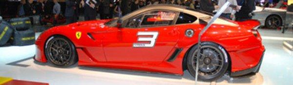 Genève : Ferrari 599XX, la FXX du pauvre