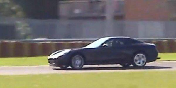 Le mulet de la Ferrari F151 à Fiorano