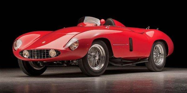 Enchères : Ferrari 750 Monza Spider 1955
