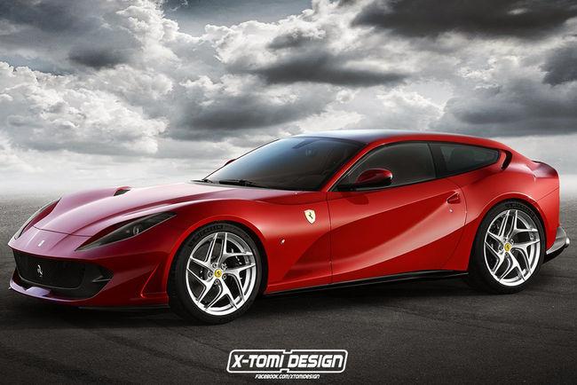 La Ferrari 812 Superfast revue par X-Tomi Design
