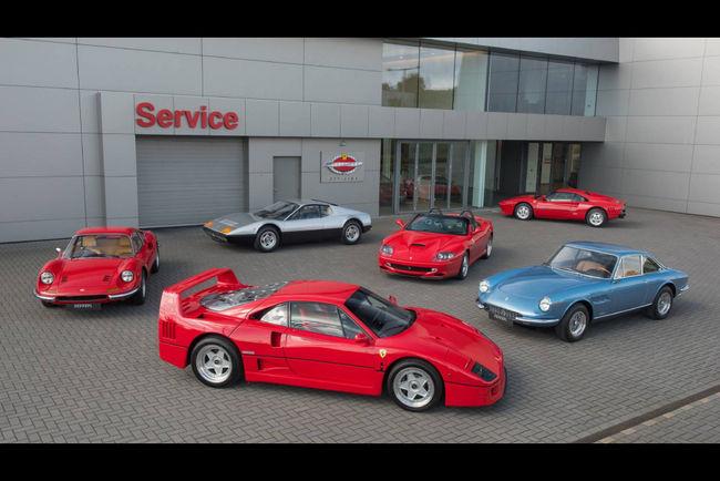 Ferrari Classiche : de nouveaux ateliers agréés