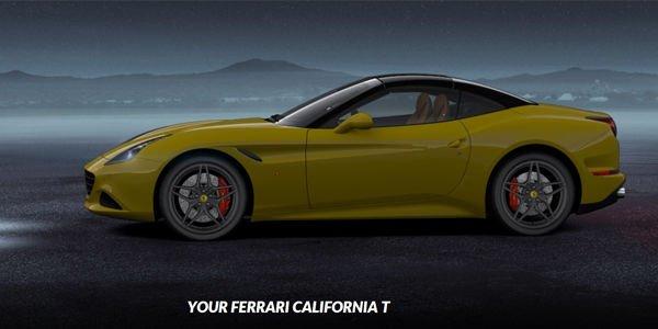 La Ferrari California T est désormais configurable