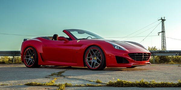 Ferrari California T N-Largo par Novitec Rosso