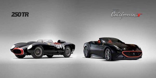 Une Ferrari California T spéciale présentée à Francfort