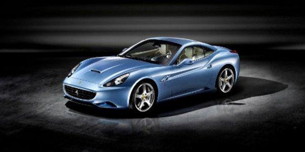 Une Ferrari California écolo au Mondial