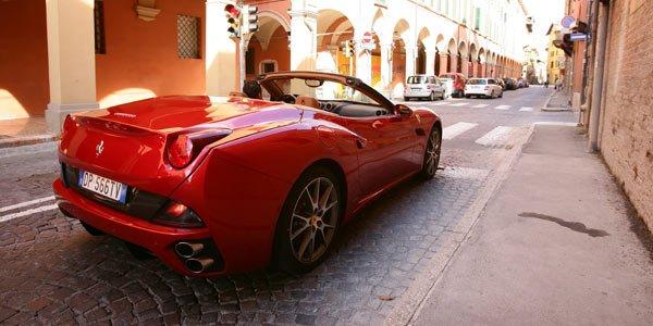 Une Ferrari California GT à Genève ?