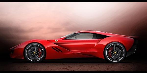Ferrari CascoRosso par Dejan Hristov
