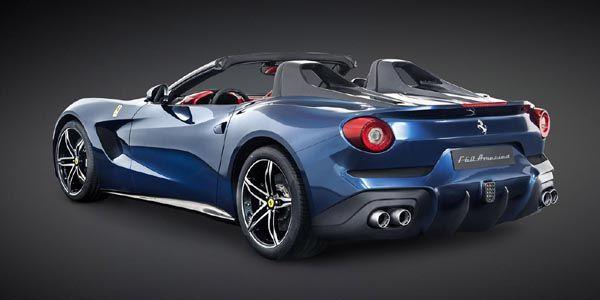 Ferrari dévoile une exclusive F60 America