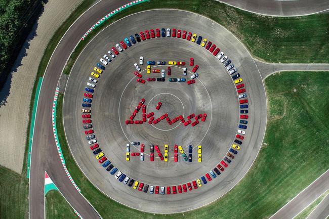 La Ferrari Dino célébrée à Maranello