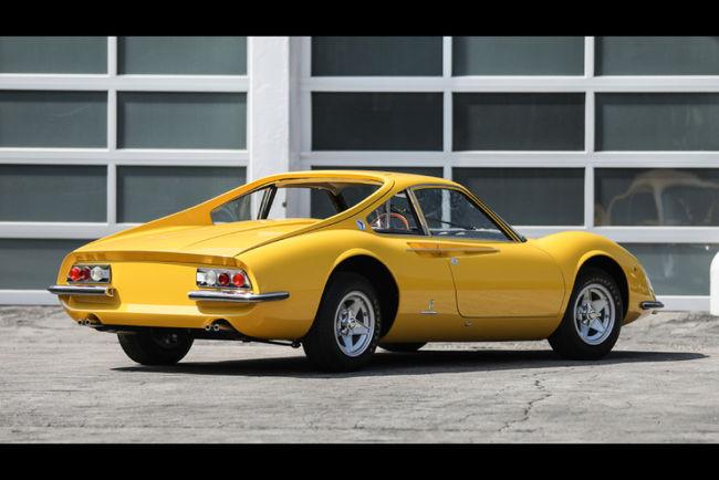 Gooding : prototype Ferrari Dino Berlinetta GT 1966