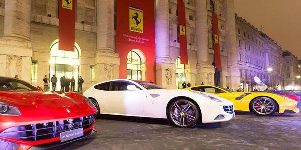 Ferrari fait son entrée en bourse à Milan