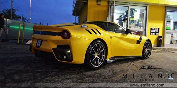 Ferrari F12tdf Aperta par Evren Milano