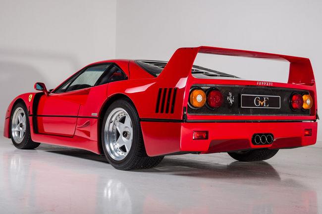 Offrez-vous la Ferrari F40 d'Eric Clapton