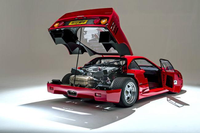 Silverstone Auctions : une Ferrari F40 à Salon privé