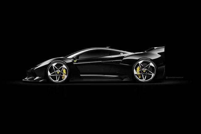 Ferrari F40 Tribute par Samir Sadikhov