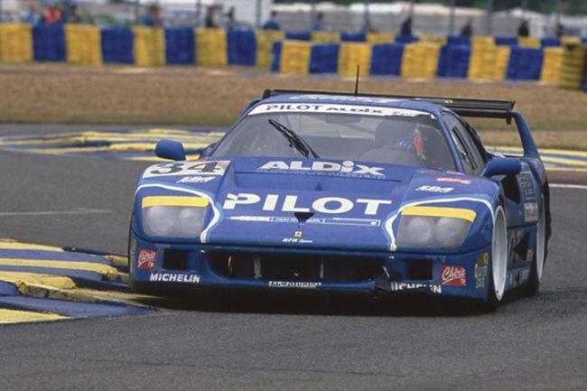 La Ferrari F40 LM Pilot aux enchères RM Sotheby's