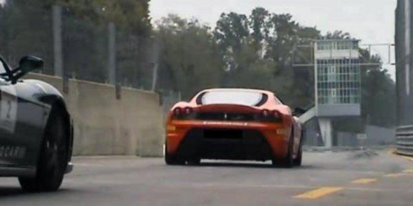 Un tour à Monza en Ferrari F430 Scuderia