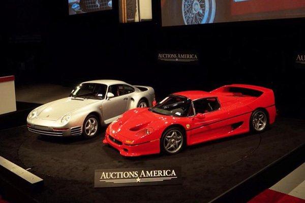 Résultats Auctions America à Santa Monica 2016