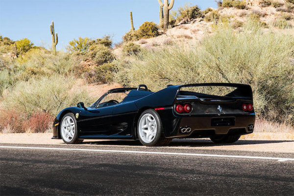 bonhams une rare ferrari f50 en vente scottsdale actualit automobile motorlegend. Black Bedroom Furniture Sets. Home Design Ideas