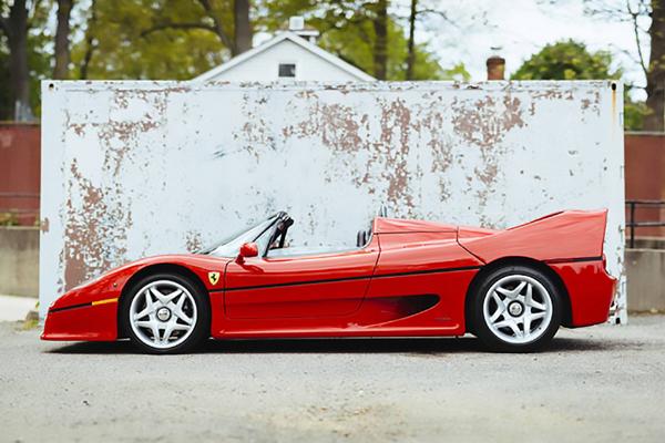 La première Ferrari F50 de l'histoire est à vendre