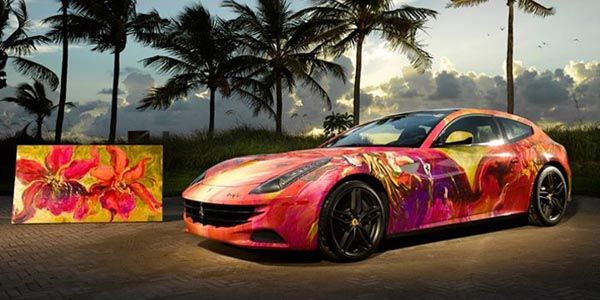 Ferrari FF Art Car par Duaiv