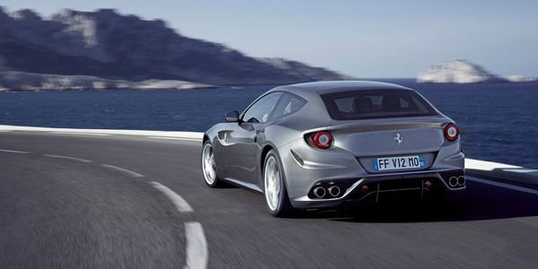 Surprise en vue avec la nouvelle Ferrari FF