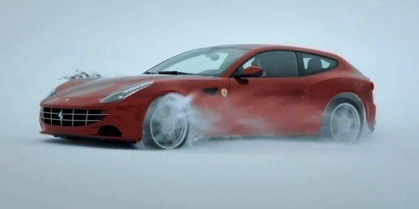La Ferrari FF en détail à Maranello
