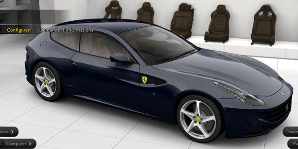 Configurez la Ferrari FF