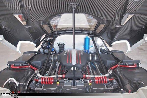 Une Ferrari FXX homologuée à vendre